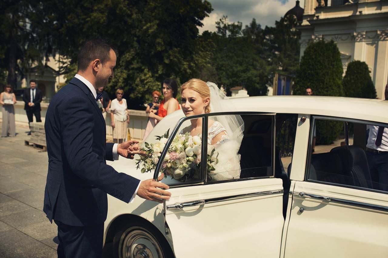 fotografia ślubna Warszawa Wilanów