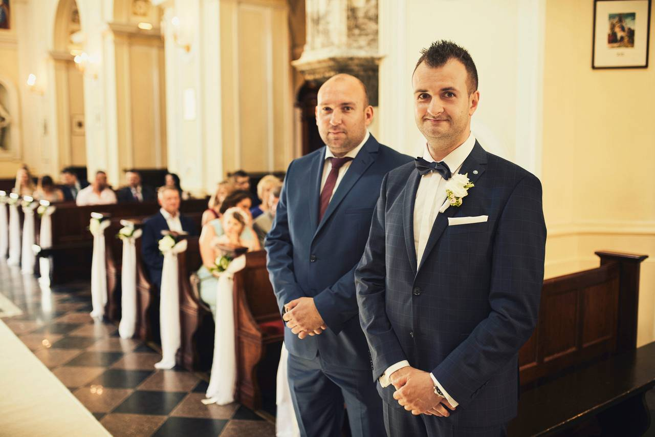 Sylwia i Damian - ślub w Wilanowie - restauracja Vilanova 93