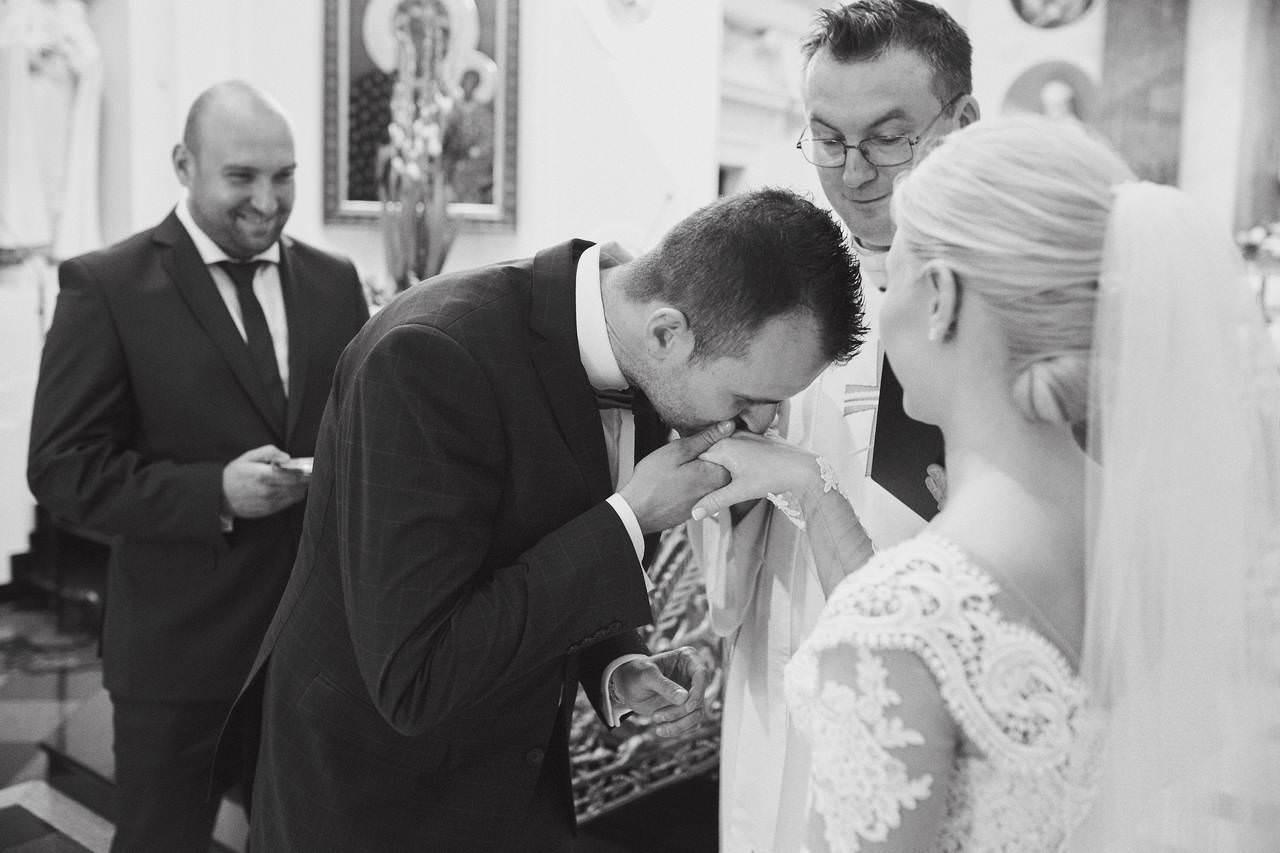 Sylwia i Damian - ślub w Wilanowie - restauracja Vilanova 96