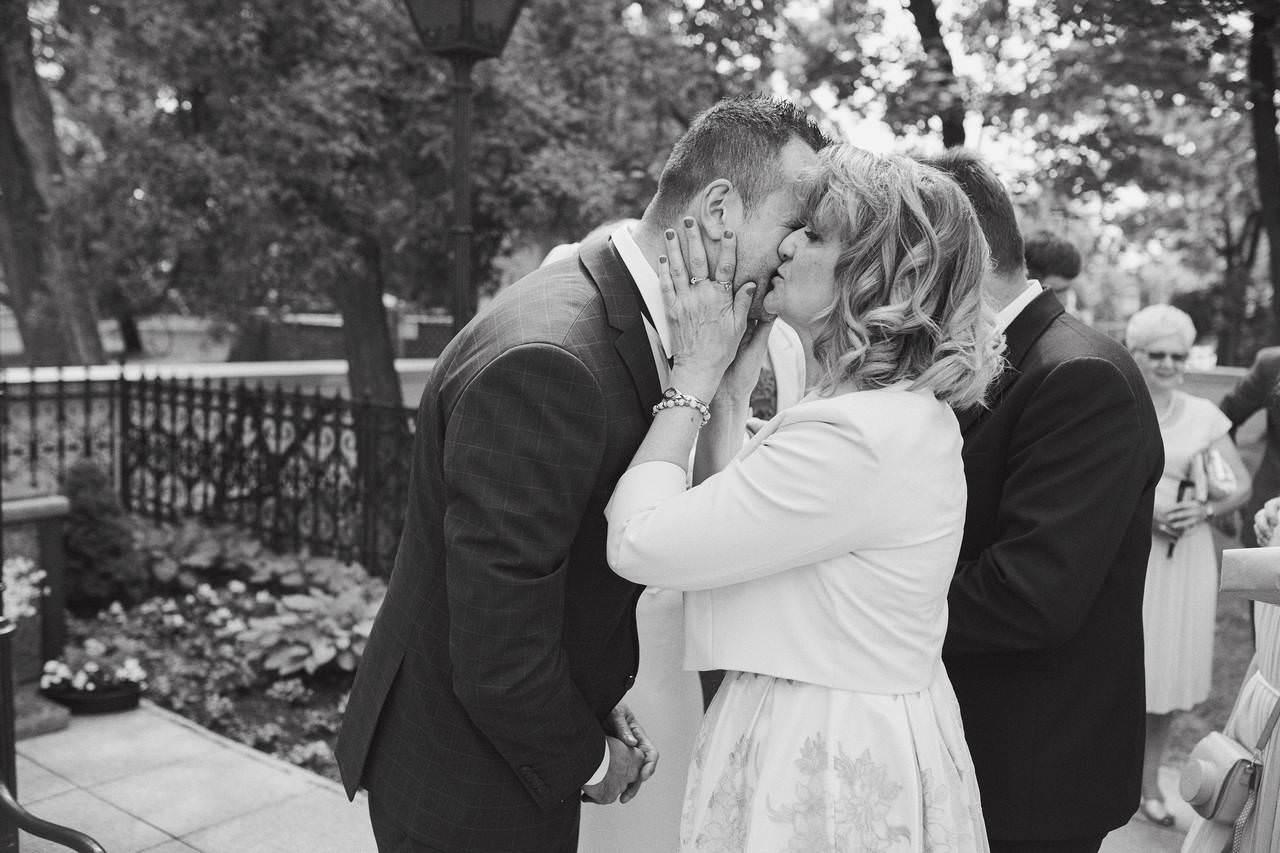 Sylwia i Damian - ślub w Wilanowie - restauracja Vilanova 8
