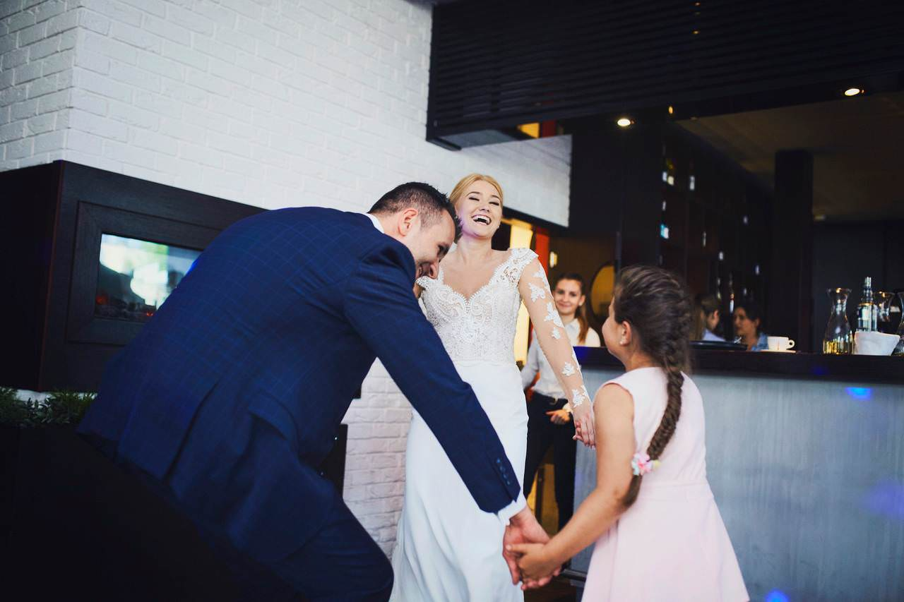Sylwia i Damian - ślub w Wilanowie - restauracja Vilanova 14