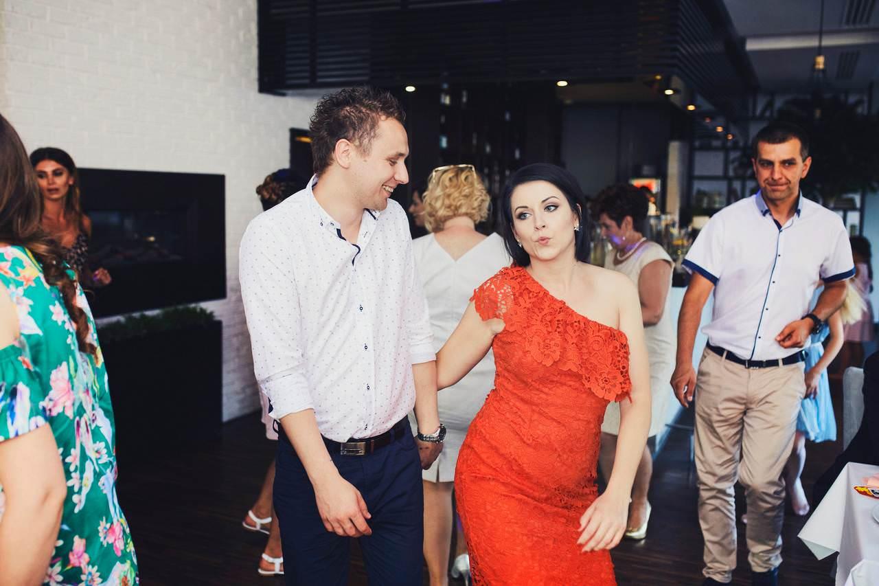 Sylwia i Damian - ślub w Wilanowie - restauracja Vilanova 106