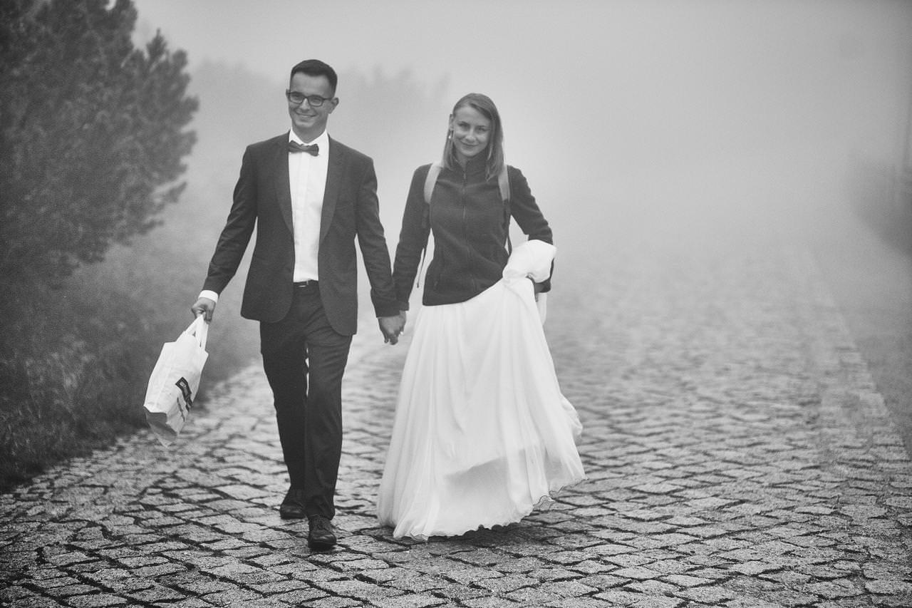 Sesja ślubna przy Dzikim Wodospadzie 22