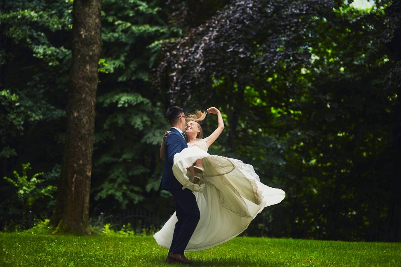 Sesja ślubna przy Dzikim Wodospadzie 25